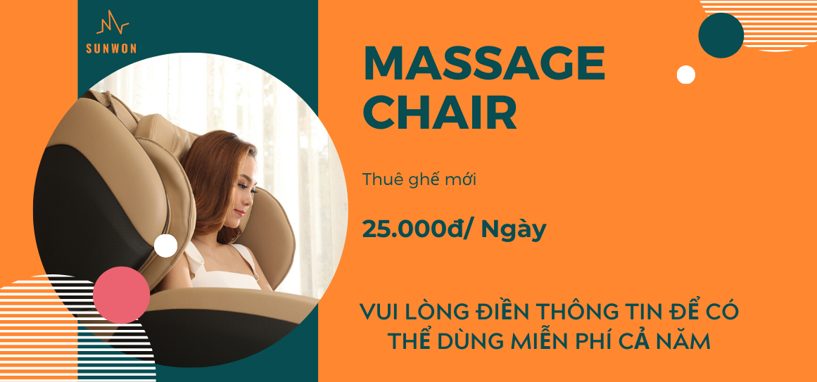 Ghế massage Sunwon