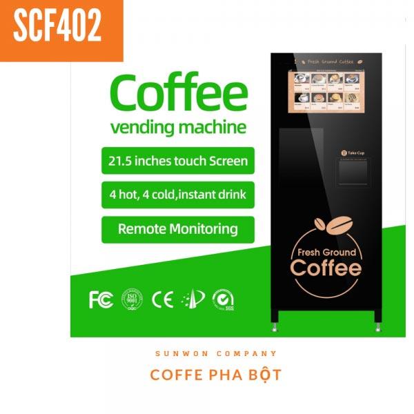 Máy pha cafe tự động SCF402
