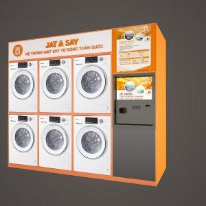 Hệ thống giặt sấy tự động JSPro4.0-3