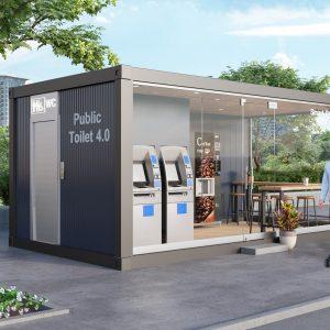 Nhà vệ sinh công cộng thông minh 4.0 (SM401)