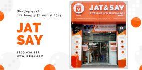 Nhượng quyền thương hiệu giặt sấy tự động Jat & Say