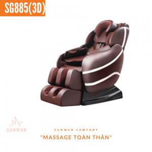 Ghế massage Sunwon SG885 (2019-3D)
