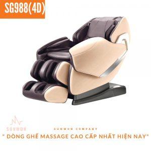 Ghế massage cao cấp SG988 (4D)