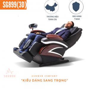 Ghế massage SG889 (3D) luxury