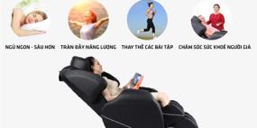 Ghế matxa toàn thân – Xu hướng chăm sóc sức khỏe thời đại mới