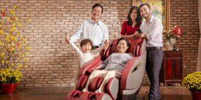 Ghế mát xa toàn thân, quà Tết chăm sóc sức khỏe cho cha mẹ
