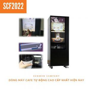 Máy bán cafe tự động pha hạt (mix 20 loại )cao cấp SCF2022