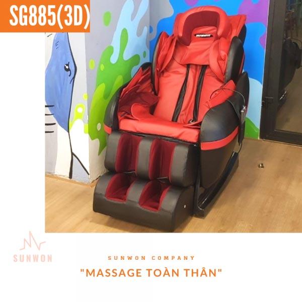 Ghế massage thanh toán ví điện tử