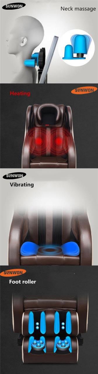Chức năng ghế massage SG883