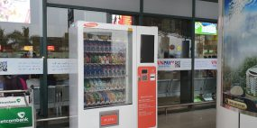 Kinh doanh máy bán hàng tự động tại ga tàu xe