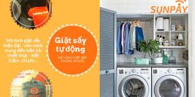 Ưu điểm của máy giặt sấy tự động tích hợp ứng dụng Sunpay