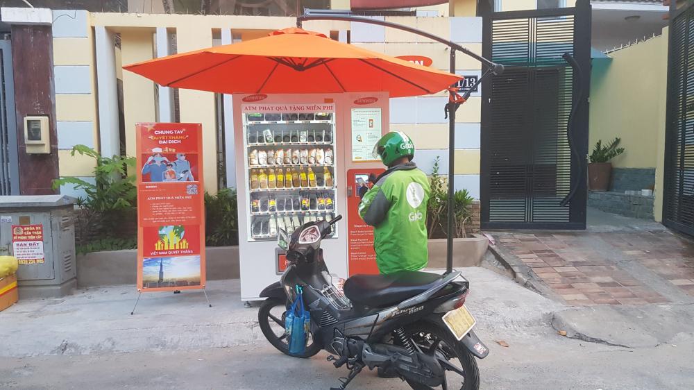 máy bán hàng tự động Sunwon